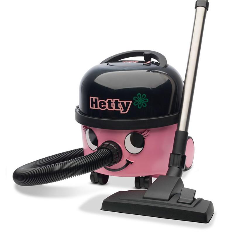 hetty Hoover, Pretty Pink Vacuum Cleaner